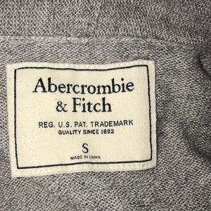Abercrombie & Fitch Sweaters - Abercrombie & Fitch gray zip up